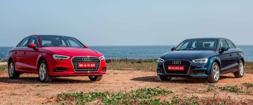 Test drives for all-new Audi A3 35TFSI car held in city