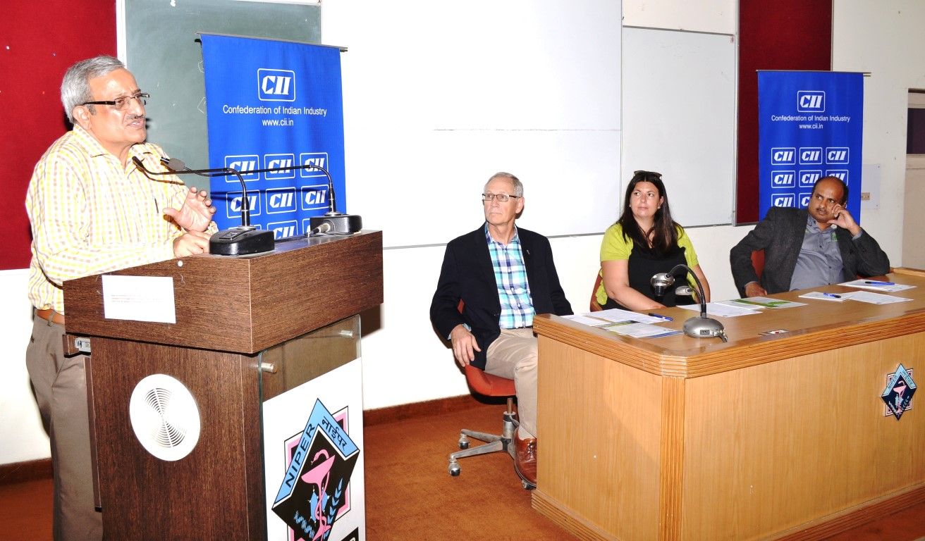 CII organises interactive sessions of delegation from US universities at PU, NIPER, PEC