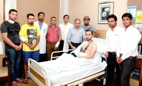 Doctors at Fortis Hospital, Mohali treat 15 Soldiers injured during the War in Iraq