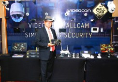 Videocon WallCam showcases its range of Video Surveillance products