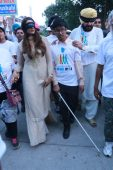 More than 500 persons experience life without vision at Blind Walk