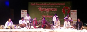 """Rangreza""  A Soulful Sufi Music Evening at Tagore Theatre"