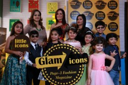 A Fashion Magazine for Kids & Moms Achievers, Glam Icons launched by Little Icons