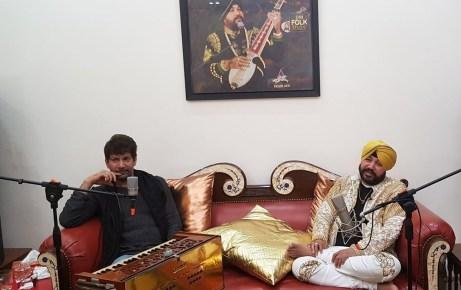 Jasbir Jassi live with Daler Mehndi today on DM Folk Studio