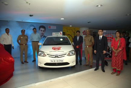 Eighth Toyota Driving School launched in India