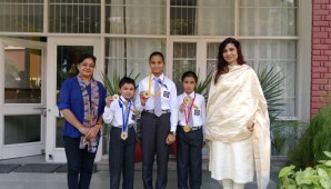 Aurobindo Champs win Gold & Silver Medals