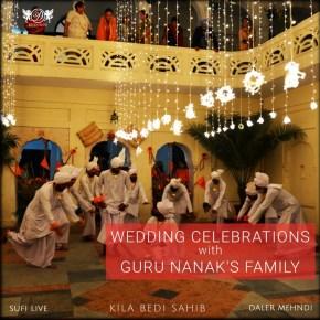 Wedding Celebrations by Daler Mehndi in the house of Guru Nanak Dev Ji