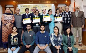 DPS, Aurobindo, Bhavan shines in Rotary Spell Bee Competition