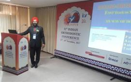 Dr Sarabjeet Singh delivered a Guest lecture at the 52nd IOS Conference Jaipur