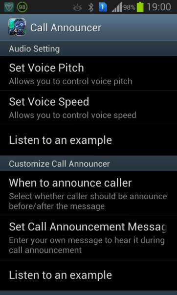 fake caller with announcer