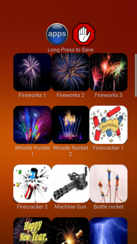firework and explosing ringtones