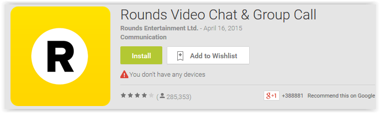 Rounds Video Chat & Group Call