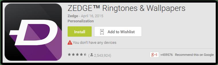ZEDGE Ringtones & Wallpapers