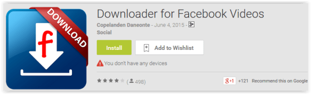 Downloader for Facebook Videos
