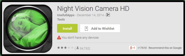 Night Vision Camera HD
