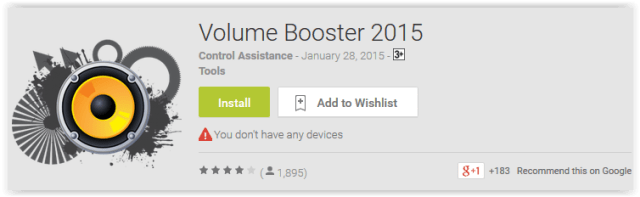 Volume Booster 2015