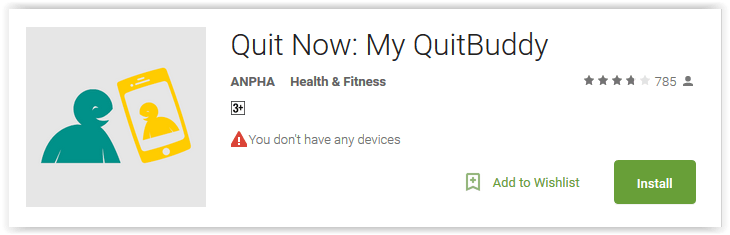 Quit Now My QuitBuddy
