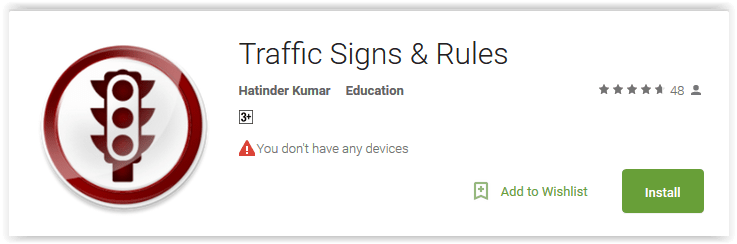 Traffic Signs & Rules