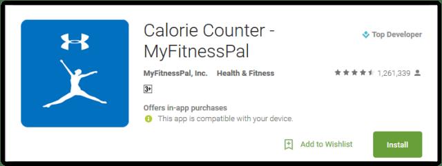 Calorie Counter MyFitnessPal