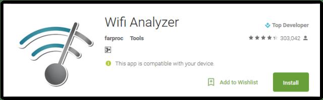 Wifi Analyzer by farproc