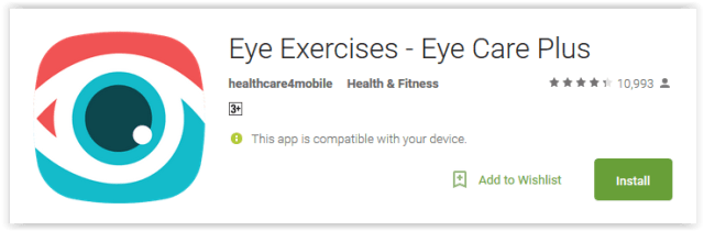 Eye Exercises - Eye Care Plus