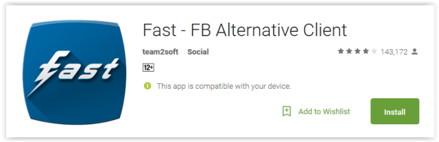 Fast - FB Alternative Client