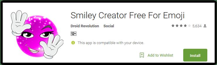 Smiley Creator Free For Emoji