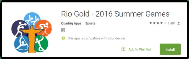 Rio Gold - 2016 Summer Games