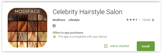 Celebrity Hairstyle Salon