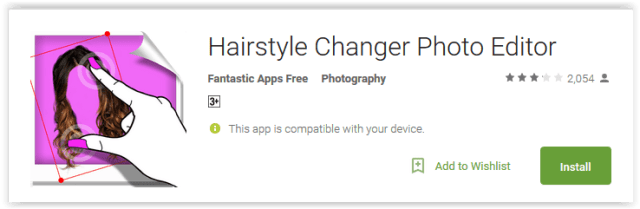 Hairstyle Changer Photo Editor