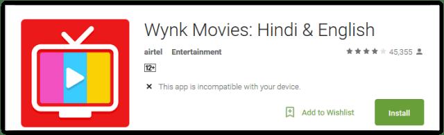 Wynk Movies Hindi & English