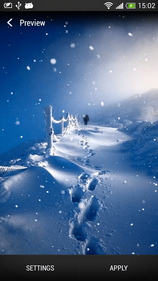 3d Snow Falling Wallpaper Top 7 Beautiful Winter Snow Live Wallpapers For Android
