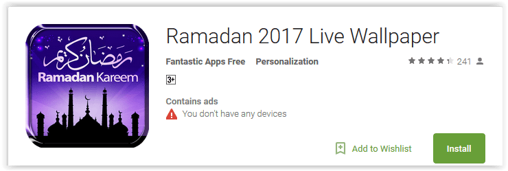 Ramadan 2017 brings the Best Ramadan Apps for Android