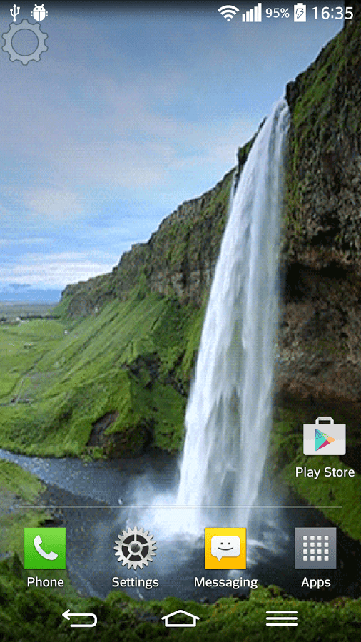 Animated Water Falling Wallpapers Top 10 Waterfall Live Wallpapers Apps For Android