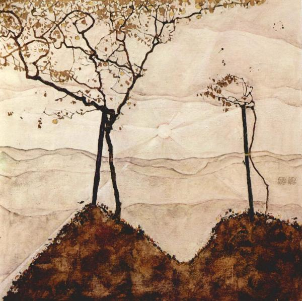 Artist Egon Schiele Ric.evans.art