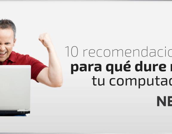 5 beneficios para que la computadora dure más tiempo