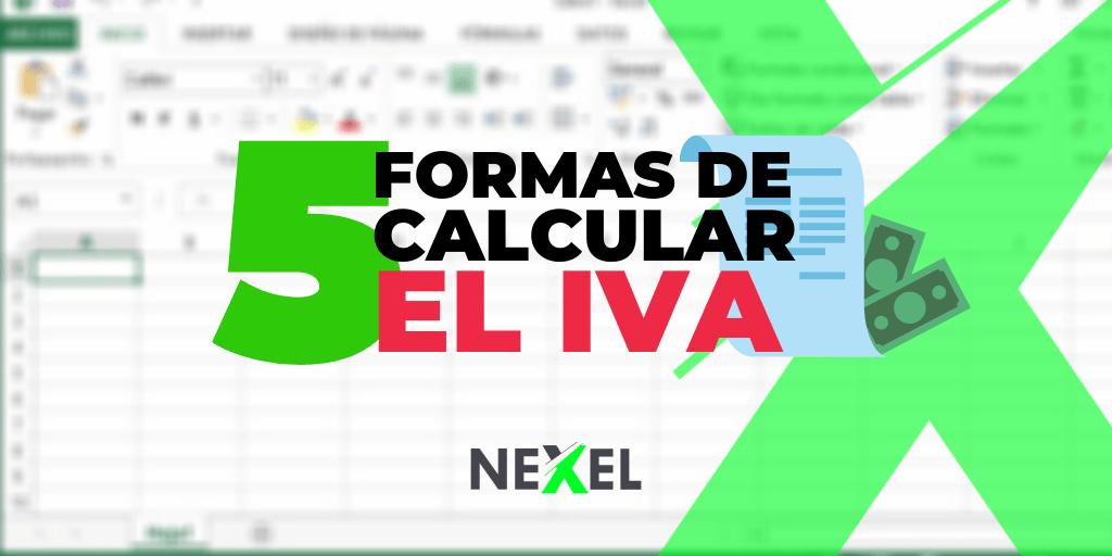 ¿Cómo calcular el IVA en Excel?
