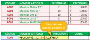 Función BUSCARV en Excel【 2010 - 2013 - 2016 】