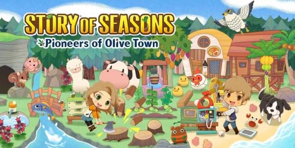 Story of Seasons: Pioneers of Olive Town Banner