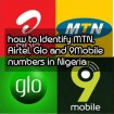 How to identify an MTN, Airtel, Glo and 9Mobile number in Nigeria