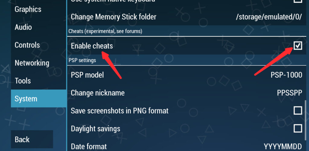 Ppsspp cheat.db file download