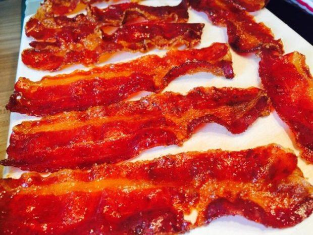 Bacon drehen