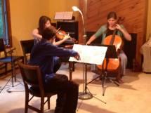 Jason, Mary, and Rebecca Perform Beethoven at Flynn Pianos