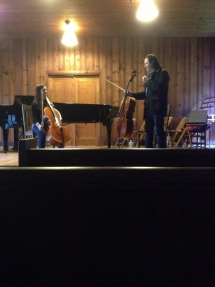 Molly in Masterclass with Matt Haimovitz