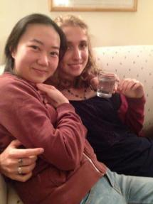 Shishi and Charlie Stay Warm!