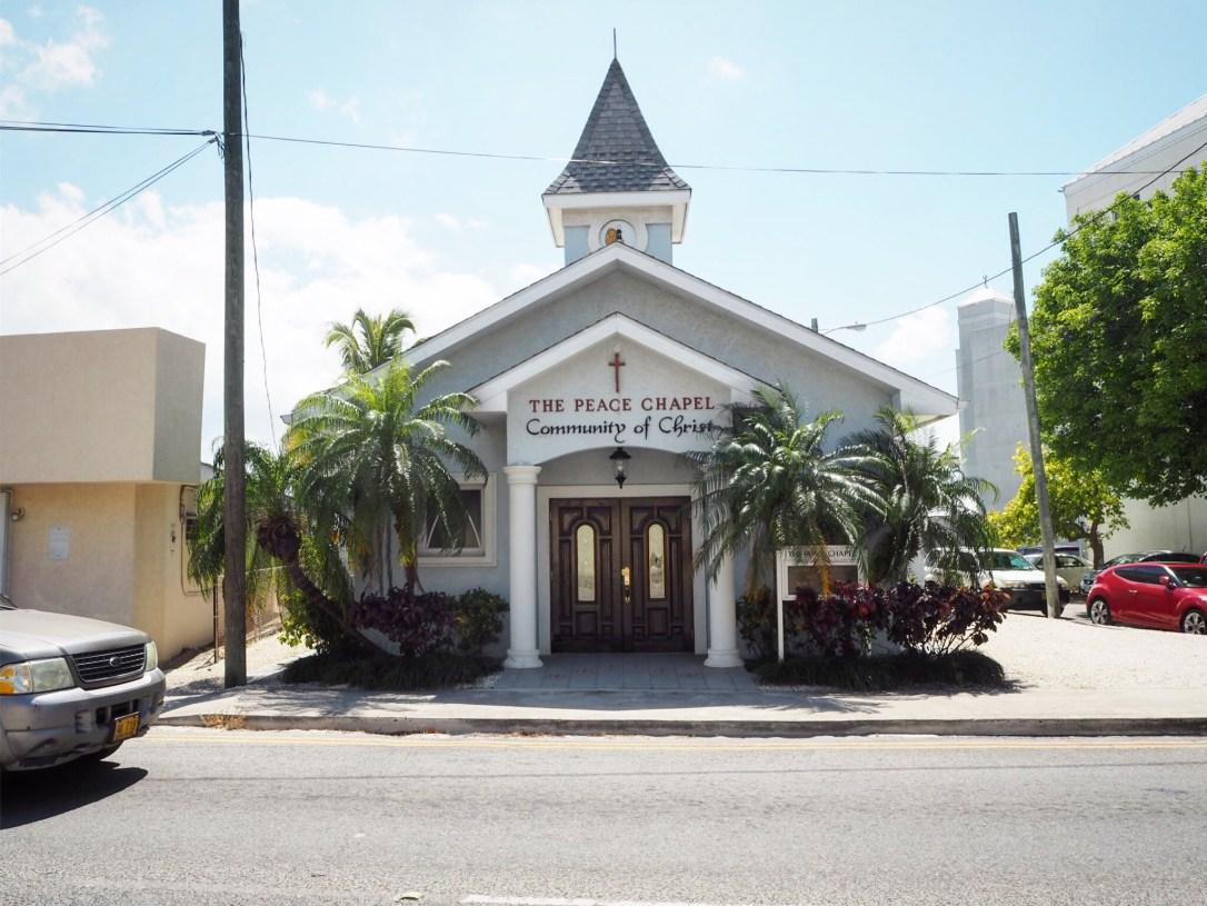a church in Georgetown Grand Cayman