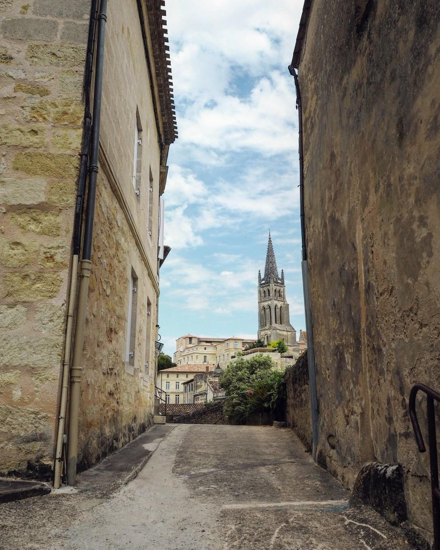 Bordeaux to St Émilion by train