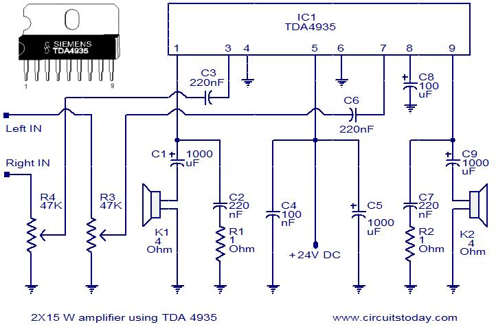 Audio Stereo Circuit Page 5 : Audio Circuits :: Next.gr