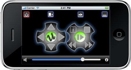 uRemote XBMC для iPhone