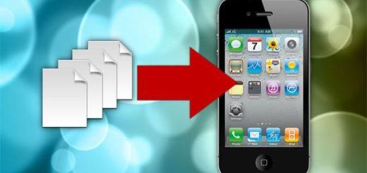 перенести контакты iPhone